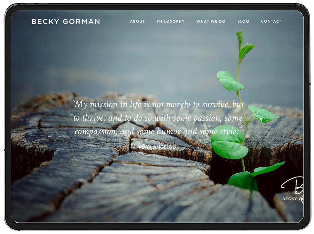 Becky Gorman